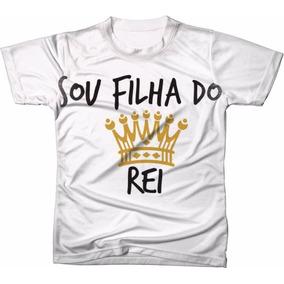 Camiseta Sou Filho De Deus - Camisetas no Mercado Livre Brasil c43927fdf59