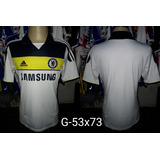 Camisa Chelsea Adidas Samsung Mobile - Camisa Chelsea Masculina no ... 19720cf7a7f0d