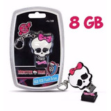 Memoria Usb De 8 Gb Monster High De Sakar Ed Limitada