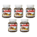 Nutella 350g 05 Pote De Nutella Original