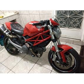 Sucata De Ducati Monster 696 Toda Original Somente Para Peça