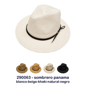 Sombrero Panama .. Art  290063. 3 colores 4b368211fad