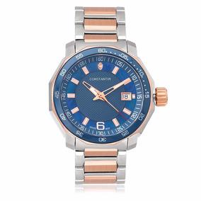 a1e4003143a Relogio Constantim Silver Black - Relógios no Mercado Livre Brasil