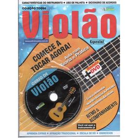 Curso De Violão Vol.1,2, 3 Nível Iniciante Médio Revista+dvd