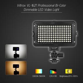 Iluminador De Led Viltrox Vl-162t Cri95+ Bi-color Canon Sony