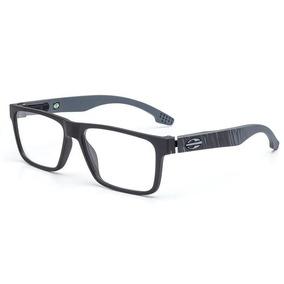 Armação Óculos De Grau Mormaii Terral Preto Com Cinza - Óculos no ... b74a655b60