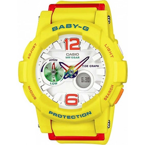 5b4f7c2e3ab Relogio Casio Baby G 180 - Relógios De Pulso no Mercado Livre Brasil