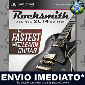 Rocksmith 2014 Edition Ps3 Midia Digital Envio Imediato