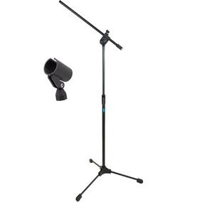 Pedestal Para Microfone Tipo Girafa Ask Tps + Cachimbo