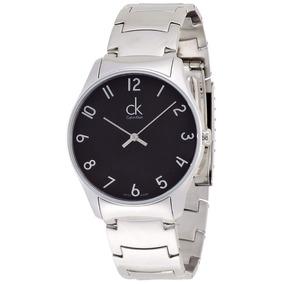 Reloj Calvin Klein Hombre Plateado Acero Inoxidable Msi