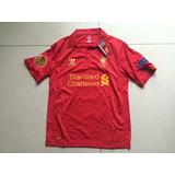 Camisa Liverpool Europa League 2012-13 Gerrard 8