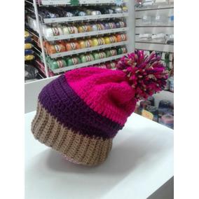 9de03cd4dd746 Touca Croche Feminina Adulta - Acessórios da Moda no Mercado Livre ...