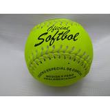 Pelota Softbol 1 Pza Proline Piel Pelotas Reglamenta Optica