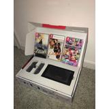 Nintendo Switch,c/3 Super Juegos 32gb + 64gb Impecable