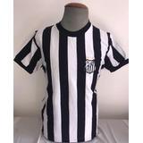 1eba122d62 Camisa Santos Listrada Retro Oficial Athleta + Autenticidade