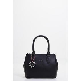 Cartera Mini Bag De Mujer Lazaro Marsella Cuero Negro