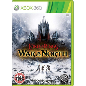 The Lord Of The Rings War In The North Xbox 360 Mídia Física