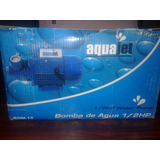 Bomba Electrica De Agua De 1/2 Hp Aquajet