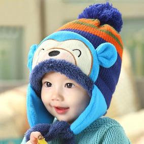 Touca Gorro Infantil Para Bebê E Criança Inverno 2c7f5ada768