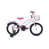 Bicicleta Aro 16 Infantil Feminina S/m Drika