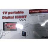 Nex Tv Digital Hd Portatil 7 Pulgadas Nuevo Original