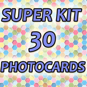 Kpop Photocard - Super Kit 30 Fotos