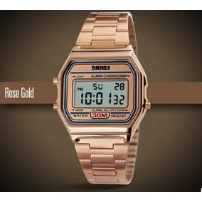 2101e5ab39f5 Relogio Casio Unisex Rose - Relógios De Pulso no Mercado Livre Brasil