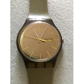 1310510b103 Relógio Swatch Irony Aluminium Com Visor Verde - Relógios no Mercado ...
