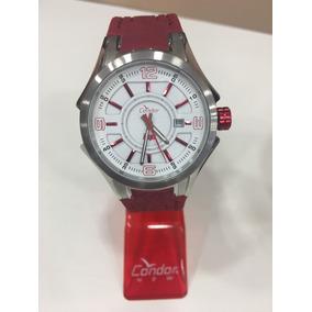 Relógio De Pulso Condor Vermelho   Ko4044309