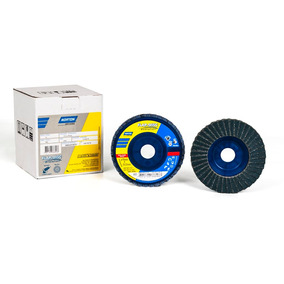 Disco Flap Disc R822 115 X 22 Mm Gr 60 Norzon Cjax10 Norton