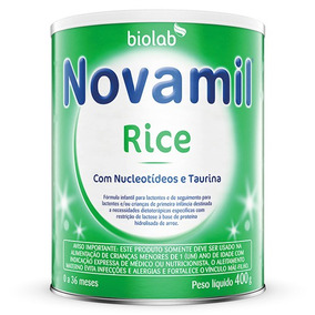 Novamil Rice Fórmula Infantil Lata 400g