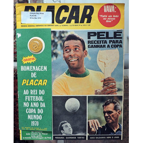 Revista Placar Nº 1 - Com A Moeda - Rara