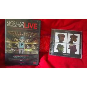 Gorillaz Demon Days / Cd + Dvd Live At The Manchester Opera