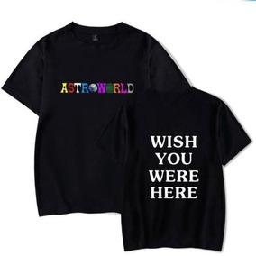Playera Travis Scott Astroworld Musica C/ Envio Gratsi