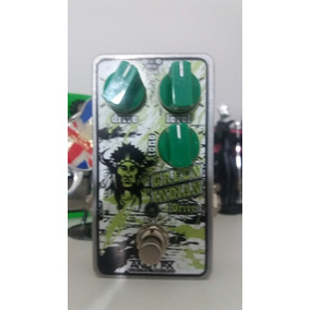 Pedal Green Indian Drive Andy Fx ( Clone Do Ibanez Ts9 )