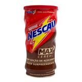 Kit 2 Achocolatado Em Pó Nescau Max Zero Açúcar 330g