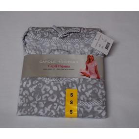 Pijama Capri Carole Hochman Para Dama Algodon