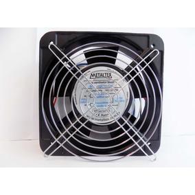 Mini Ventilador Cooler 150mm + Grade Metálica Metaltex