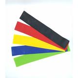 Mini-bands Faixas Elásticas Circulares Em Loop Kit 5 Unidade