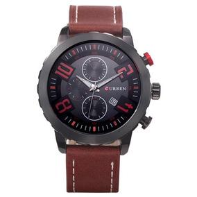 Reloj Moderno Rudo Hombre Análogo Curren 8193 Envío Gratis