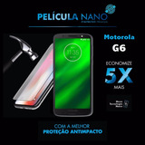 Película Premium Nano Protector Moto G6 / G6 Plus / G6 Play