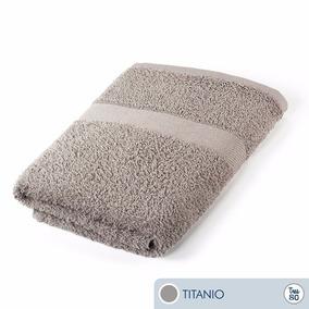 Oferta Toallas Ama De Casa Tres80 Baño 120x68 Cms Titanio