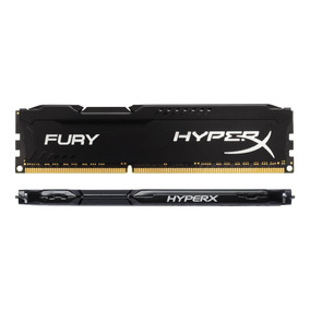 Memória Gamer 8gb Ddr3 1600mhz Kingston Hyperx Fury C/frete