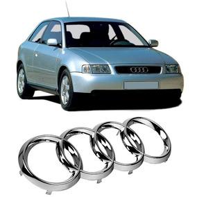 Emblema Grade Audi A3 1996 Até 2006 Cromado