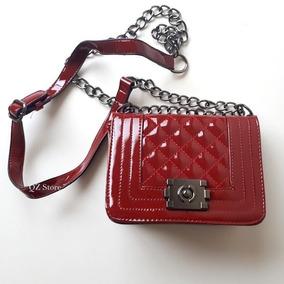Bolsa Alça Corrente Pequena Fashion Inspired Moda Transversa