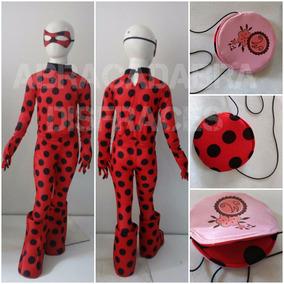 Disfraz Ladybug Tipo Miraculuos Lady Bug Prodigiosa 2-12 ace6e14c29e0