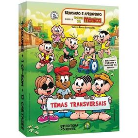Coleção Temas Transversais Brincando Aprendendo Turma Monica