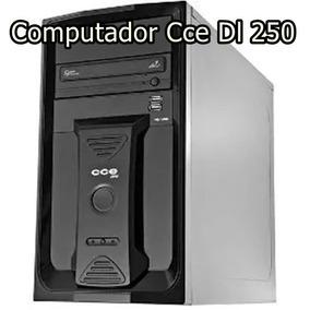 Computador Cce Dl 250 - Memória 6 Gb - Hd 500 Gb