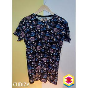 aa36a5792c Camisa Estampado Flores Hombre - Camisas de Hombre en Mercado Libre ...
