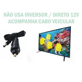 Tv Digital 12 Volts 24 Poleg Nao Usa Inversor 110/220/12 V